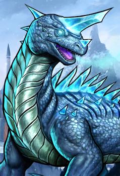 Frost Lizard