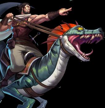 Tyran and Rex