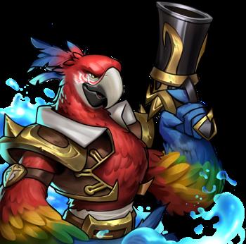Captain Macaw